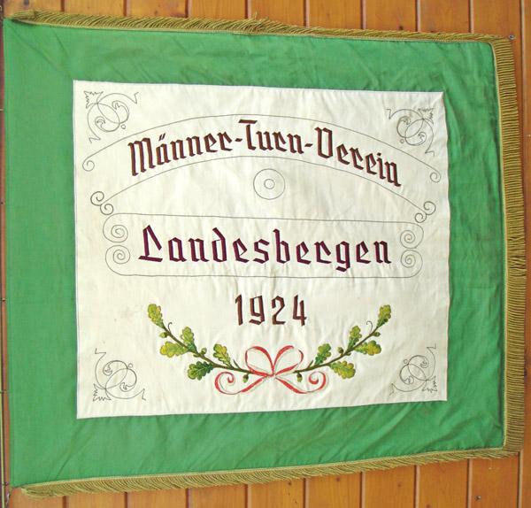 Vereinsfahne MTV Landesbergen