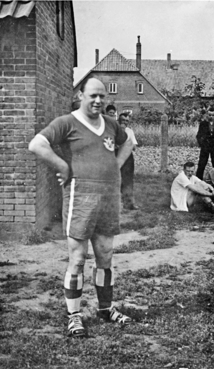 Nun wurde in Landesbergen auch Fußball gespielt